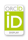 ORCID display badge